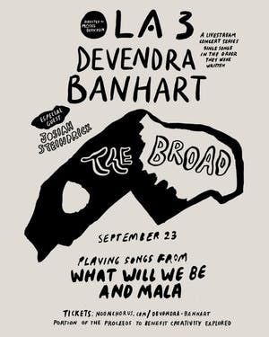 OLA 3 -Devendra Banhart Sings Songs In  Order They Were Written Livestream
