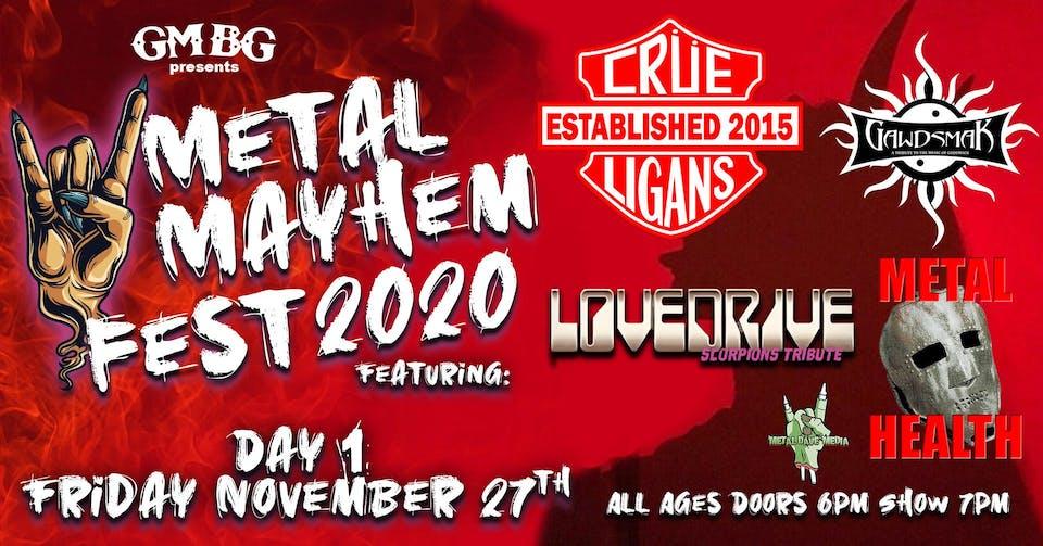 Metal Mayhem 2020 Fest - Day 1
