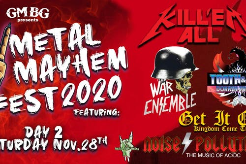 Metal Mayhem 2020 Fest - Day 2