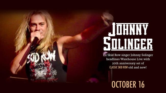 JOHNNY SOLINGER (SKID ROW TRIBUTE), KISS ALIKE (KISS TRIBUTE)