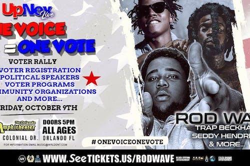 UpNex Live Presents Rod Wave