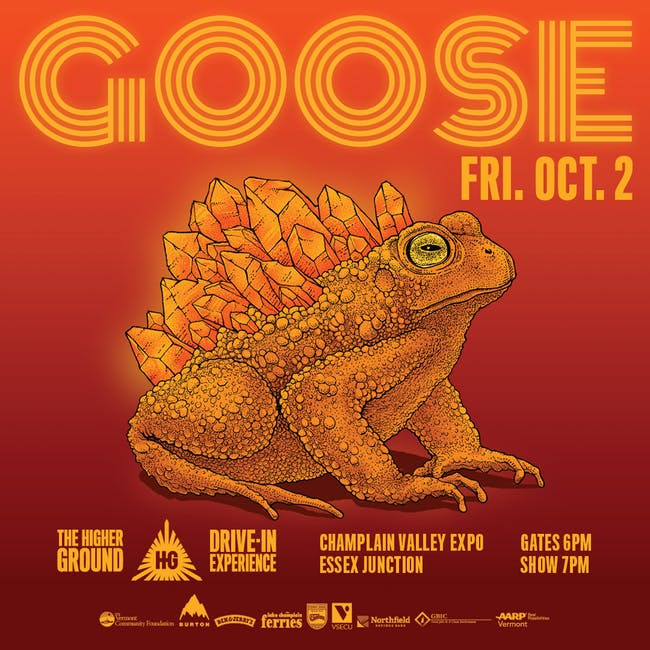Goose at the Drive-In