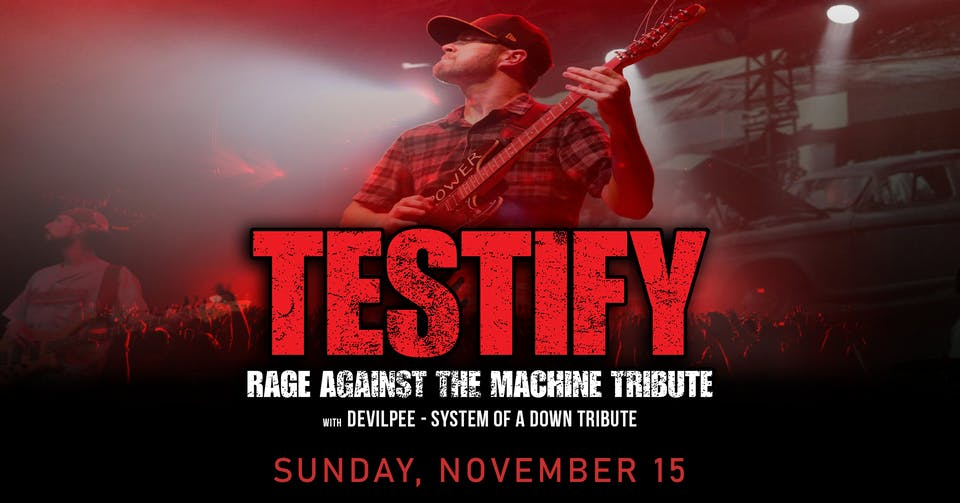 Sunday FUNday BBQ Series Ft. Testify (Rage Against The Machine)