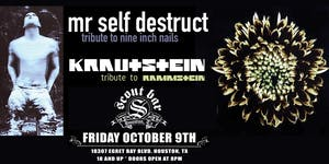 MR SELF DESTRUCT- NIN tribute & KRAUTSTEIN- Rammstein tribute