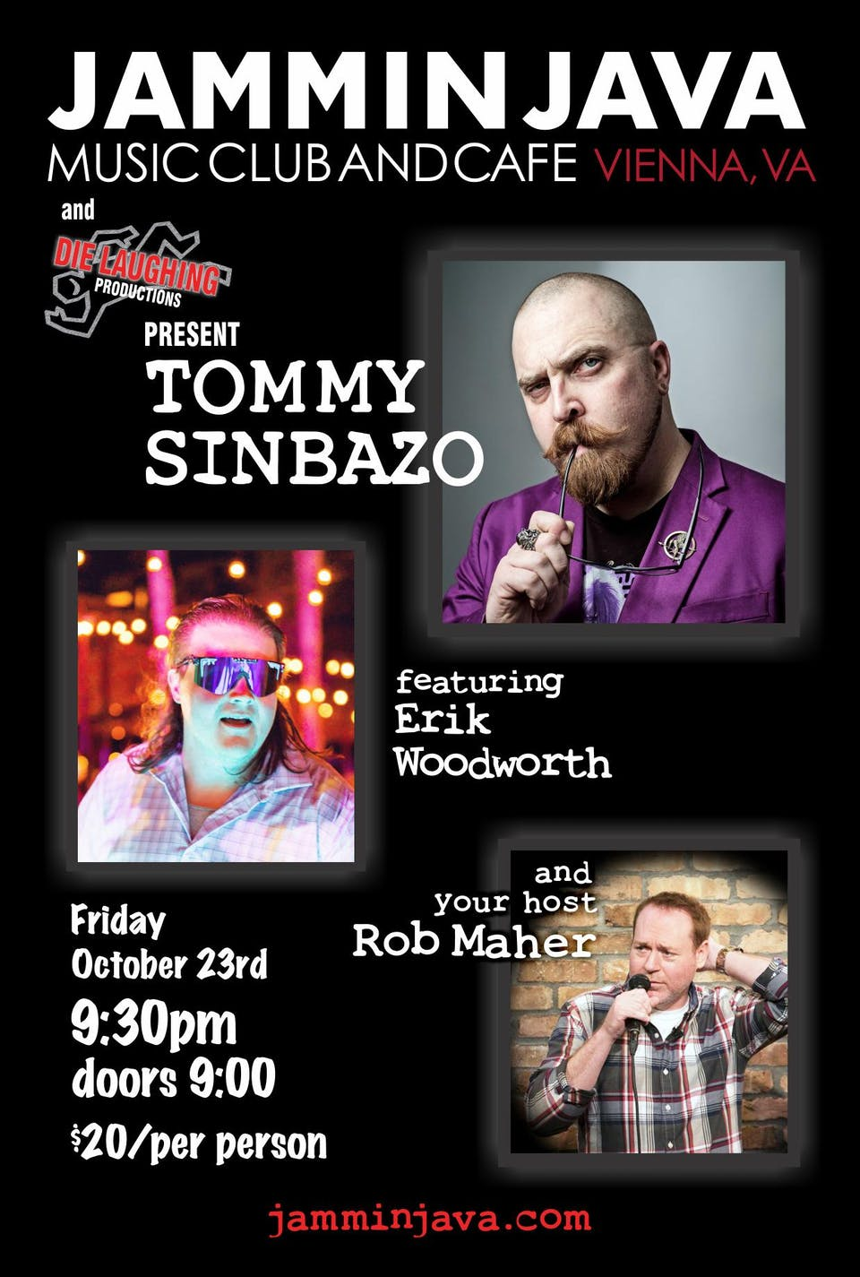 Tommy Sinbazo + Erik Woodworth Hosted By: Rob Maher