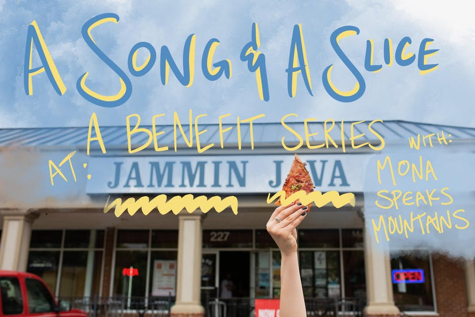 A Song & A Slice: Mona Speaks Mountains Benefiting Casa Chirilagua