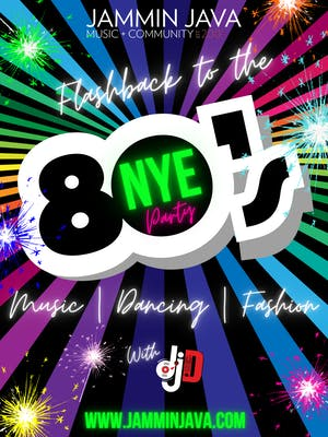New Years Eve Flashback to The 80's Party with DJ D
