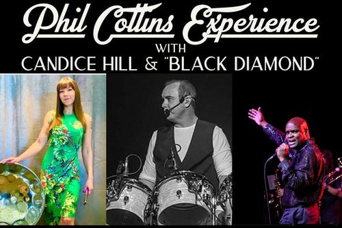 Phil Collins Experience in the Garage with The Black Diamond & Candice Hill