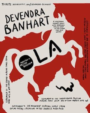 Livestream: DEVENDRA BANHART on Noonchorus