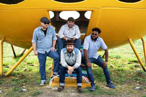 Justin Pickard and The Thunderbird Winos with  spercial guest Ruark