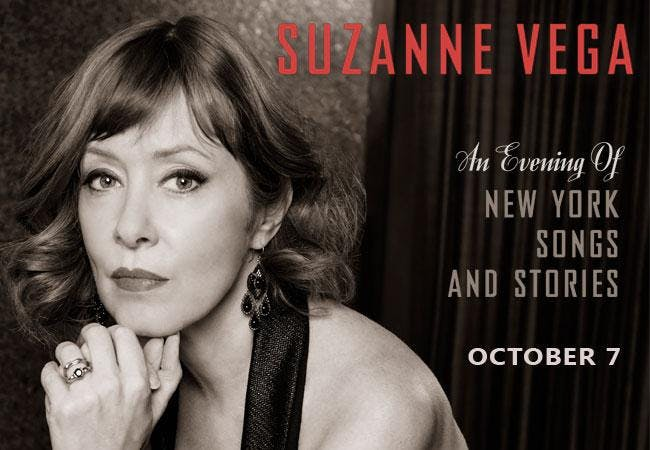 Suzanne Vega Livestream from The Blue Note