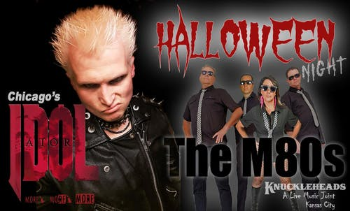 Billy Idol Tribute & M80's  Halloween Party  & Costume (an 80's Dance Band)