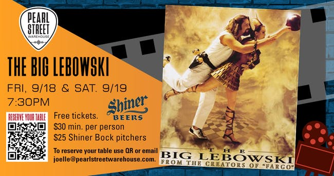 "PSW Pitcher Shows . ""The Big Lebowski"""
