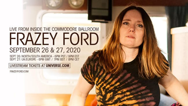 LIVE STREAM  - Frazey Ford (streaming live from the Commodore Ballroom )