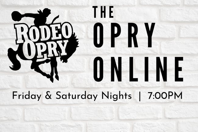Rodeo Opry Online - September 25th