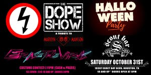Halloween Party featuring The Dope Show & Erase The Virus