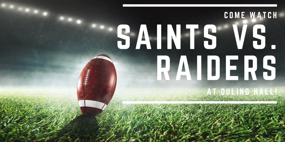 Saints vs. Raiders