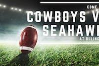 Cowboys vs. Seahawks (Game 1)