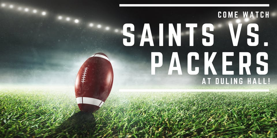 Saints vs. Packers
