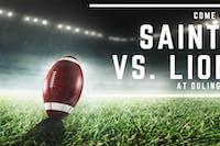Saints vs. Lions