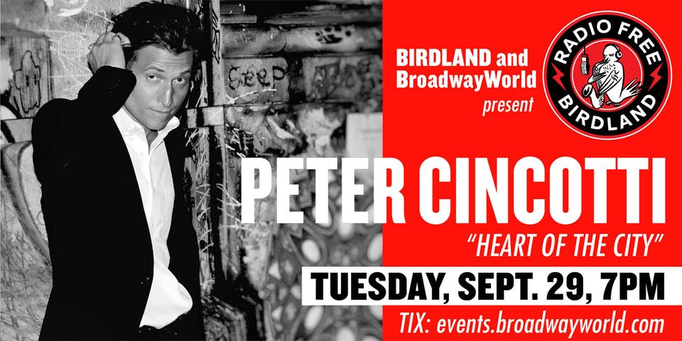 "Peter Cincotti ""Heart of the City"" Streamed from Birdland!"