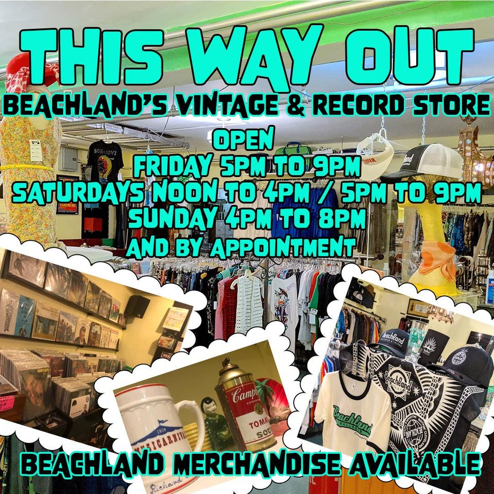 This Way Out - Beachland's Vintage & Record Store