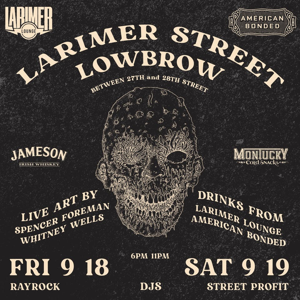 Larimer Street Lowbrow