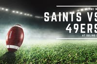 Saints vs. 49ers
