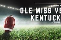 Ole Miss vs. Kentucky