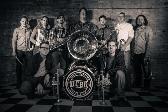 Dirty Catfish Brass Band - Mardi Gras w/Cajun Eats by Sotto Vocce