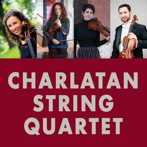 CHARLATAN STRING QUARTET - Streaming  powered by Mandolin