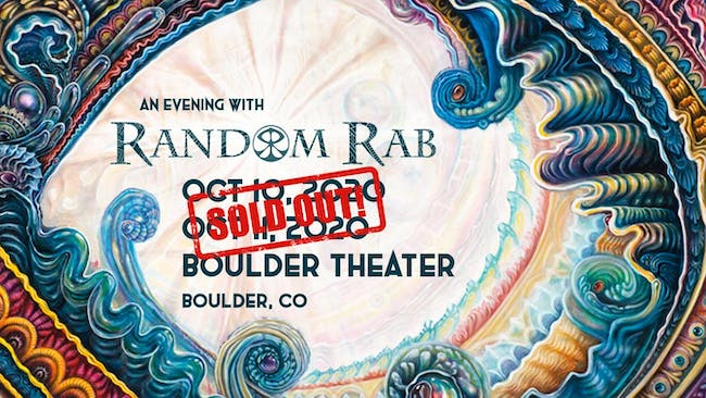 SOLD OUT: AN EVENING WITH RANDOM RAB - NIGHT TWO