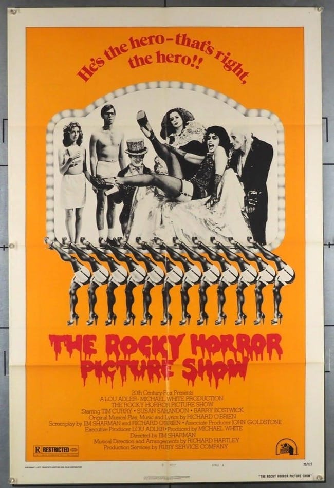 Rocky Horror Picture Show - Rescheduled to Nov 17th