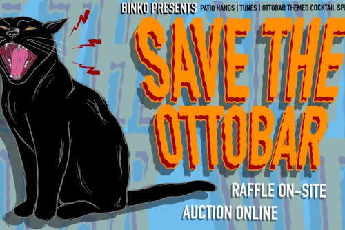 """Save the Ottobar"" On-Site Raffle and Online Auction!"