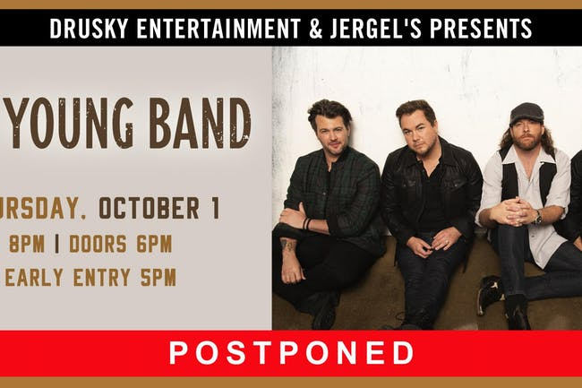 POSTPONED - Eli Young Band