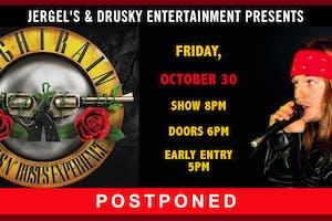 POSTPONED - Nightrain - The Guns N Roses Tribute Experience