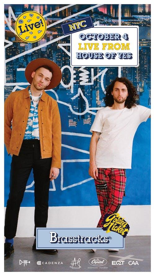 """Live Stream - Brasstracks """"Golden Ticket"""" Album Release @ House of Yes"""