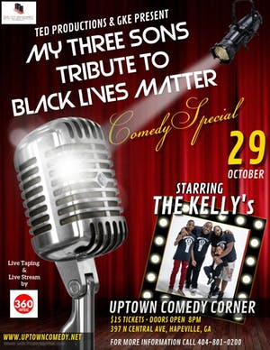 Gerald Kelly & Son's Black Lives Matter  Live Taping  Comedy Show
