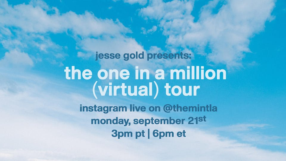 Jesse Gold - Streaming Live on Instagram