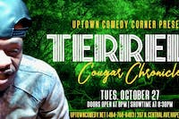 Comedian Terrell Presents The Cougar Chronicles Tour