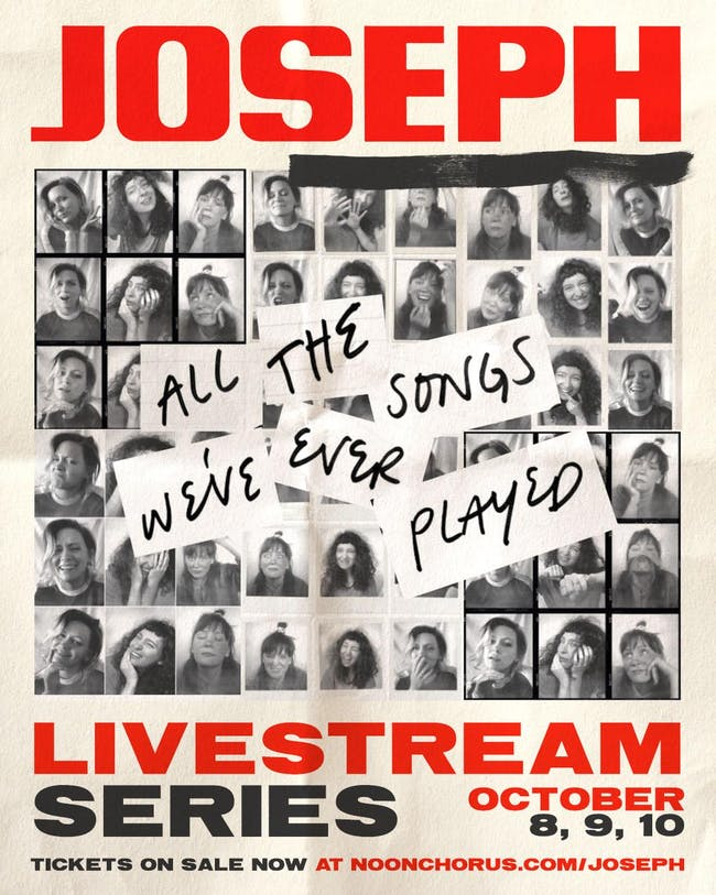 Joseph plays Good Luck, Kid - Livestream