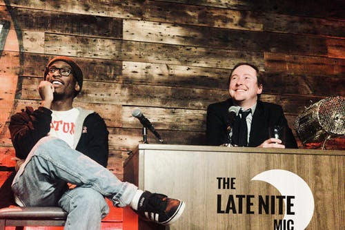 MONDAY OCTOBER 5: THE LATE NITE MIC
