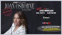 Joan Osborne With Band LIVE On Stage Webcast