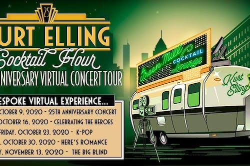 Kurt Elling Cocktail Hour - 25th Anniversary Virtual Concert Tour