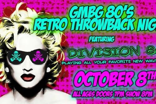 GMBG 80's Retro Wave Night