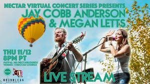 NVCS presents JAY COBB ANDERSON (of Fruition) MEGAN LETTS [LIVE STREAM]