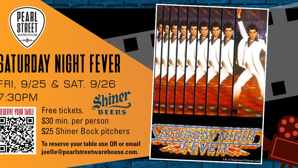 """PSW Pitcher Shows . """"Saturday Night Fever"""""""