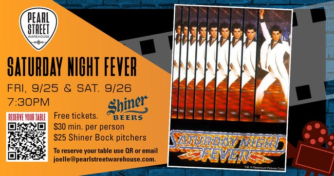 "PSW Pitcher Shows . ""Saturday Night Fever"""