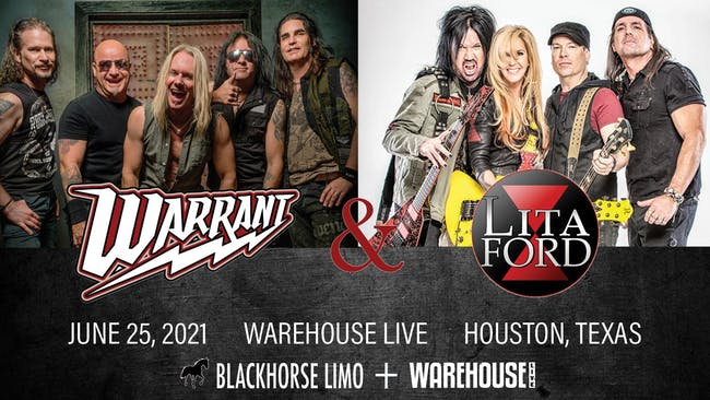 WARRANT / LITA FORD / BULLETBOYS / EDDIE TRUNK