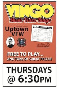 VINGO: Music Video Bingo. Watch & Play!